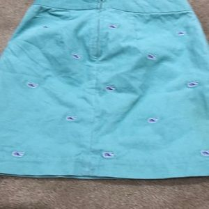 Girls Vineyard Vines Green Skirt Size 12